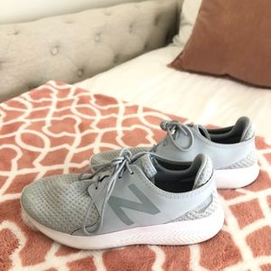 Grey New Balance sneakers